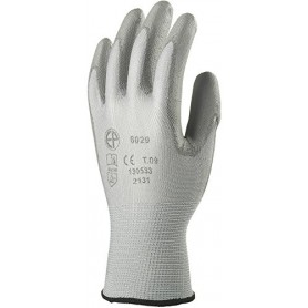 Gant manutention lisse nylon enduite PU paume & doigts