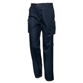 "Pantalon Multirisque Marine ""Feu-Antistatisque-Chimique"""