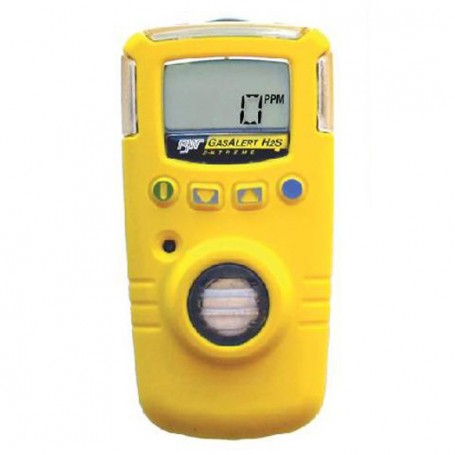 Détecteur de gaz Monogaz jetable 24 mois H2S BW