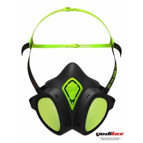 masque chimique jetable