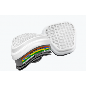 FILTRE ABEK1-P3 RD (la paire) pour Demi-Masque GVS SPR491