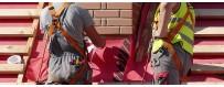 Matériel EPI anti chute pour le travail en hauteur - harnais et longes